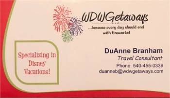 Full Service Travel Agent -Specializing in Disney Travel
