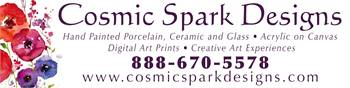 Cosmic Spark Designs in Tacoma, WA featuring local artist and Graphic Designer Penny FireHorse.