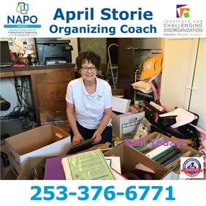 April Creates Solutions Home Organizing