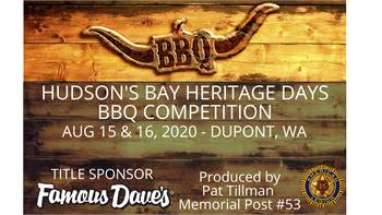 Hudson's Bay Heritage Days BBQ Competition