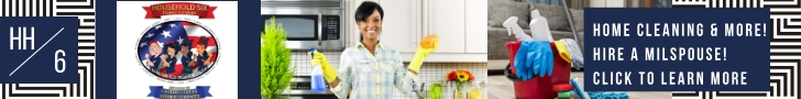 Hire a Military Spouse - Cleaning Move out Specials