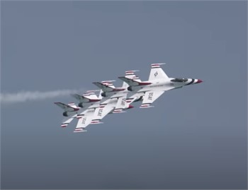 The U.S. Air Force Thunderbirds are Coming in July!