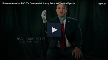 Local Hero and Airborne Ranger - Leroy Petry endorses President Trump