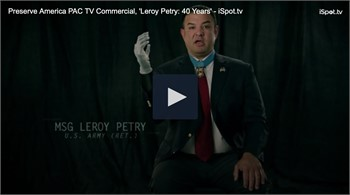 Local Hero and Airborne Ranger - Leroy Petry endorses President Trump