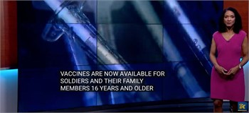 JBLM opens vaccinations to all military members, family members 16 and older