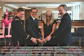 JBLM's Dental Activity memorializes clinic